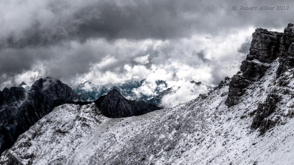 Erster Schnee im Karwendel