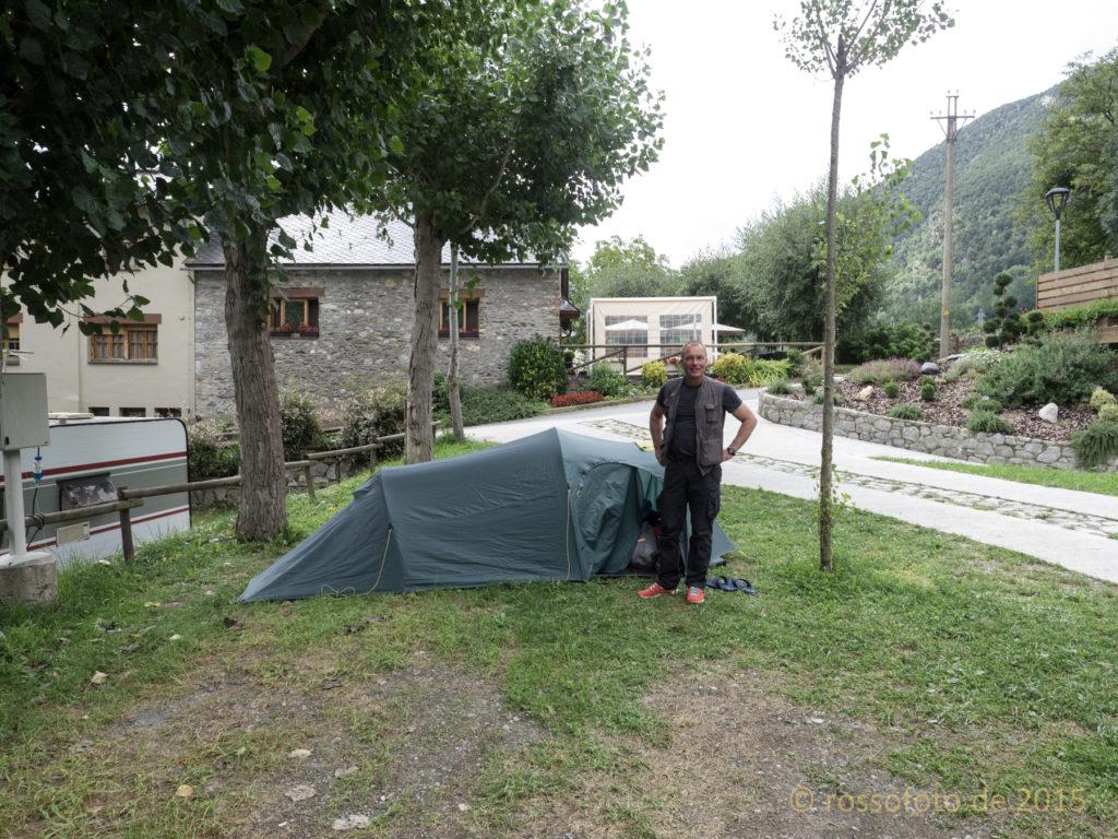 Startpunkt Nou Camping in La Guinguetta.