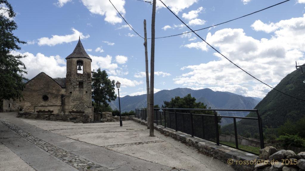 Die Kapelle von Jou.