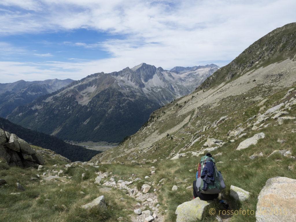 Das Tal der Basses di Rius.
