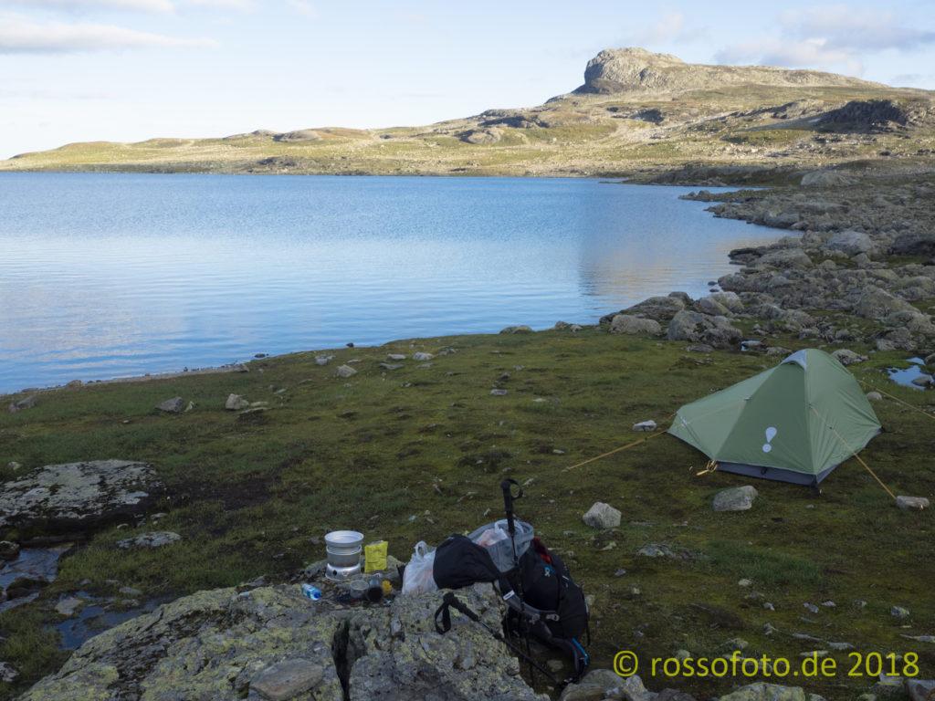 Meine erste Übernachtung im Gebirge.