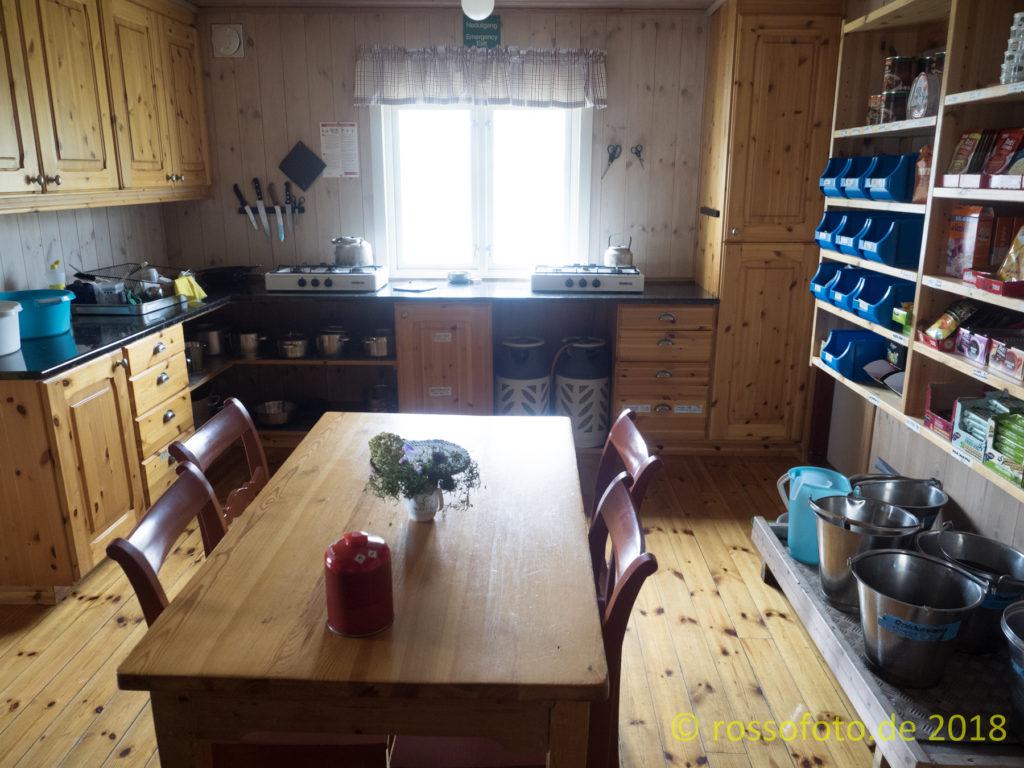 Die Küche.