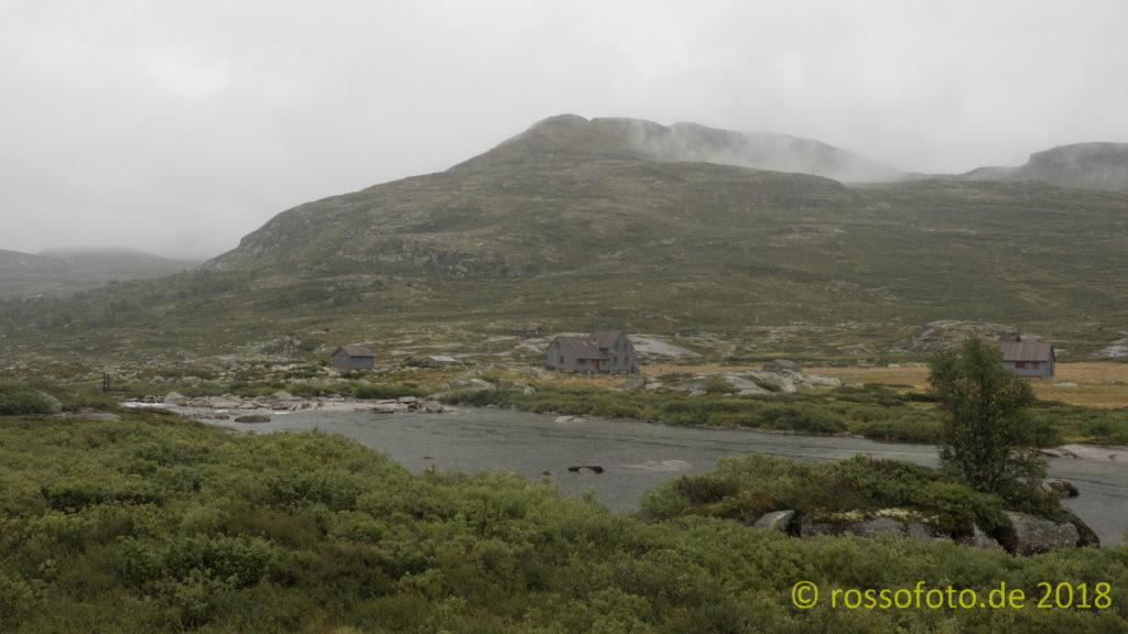 Nach 23 km supernass und durch in Hadlaskard.