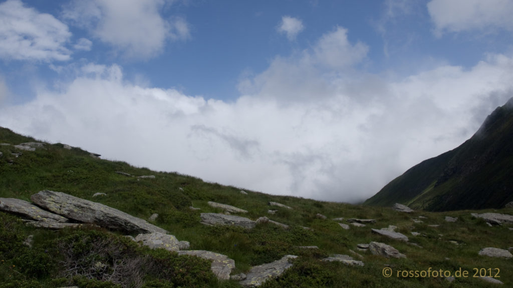Wie so oft auf der Tour bin ich wieder über den Wolken.