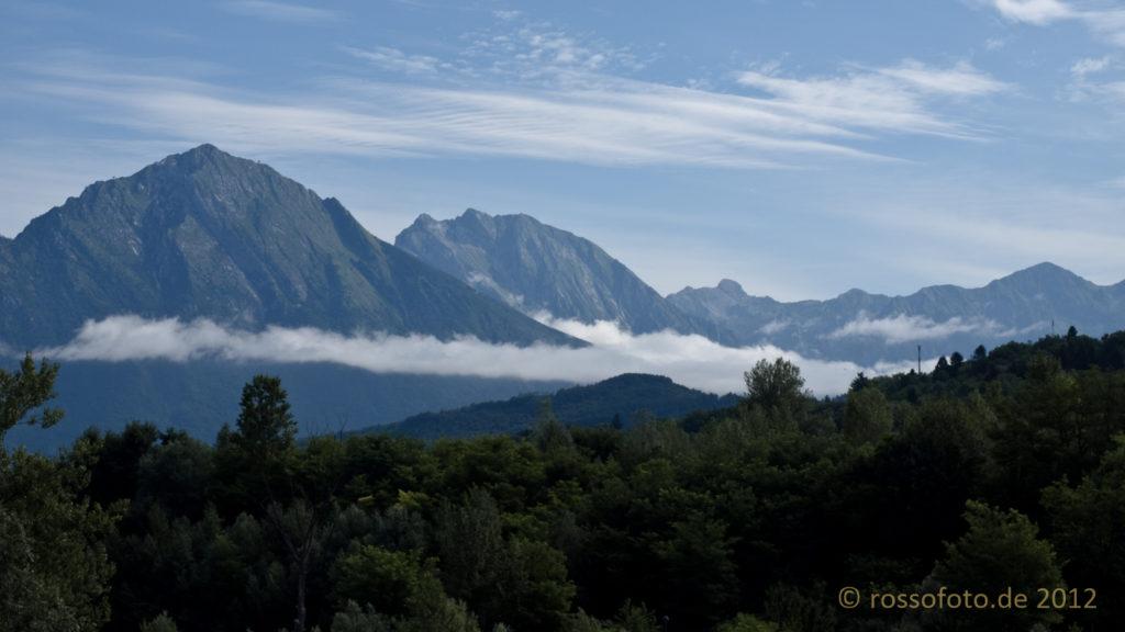 Das Tal der Piave.