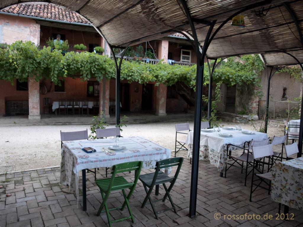 Beste und immer frische italienische Hausmannskost im Hofrestaurante.