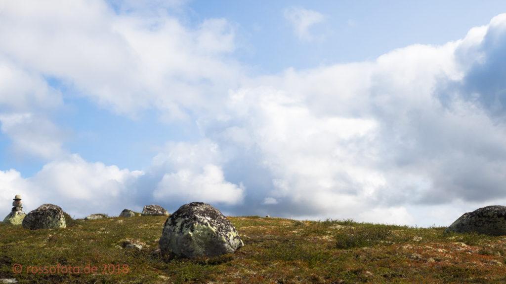 Himmel über der Hardangervidda