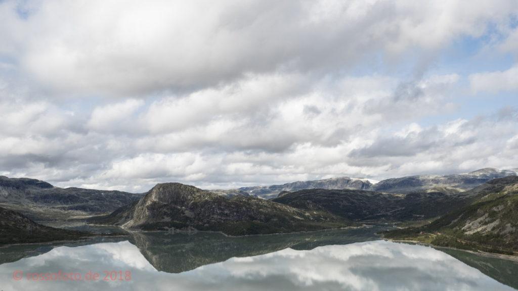 Bergsmulfjorden bei Haugastøl.